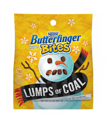 Butterfinger Bites Lumps Of Coal - 3.2oz (90.7g) [Christmas] Sweets and Candy Butterfinger