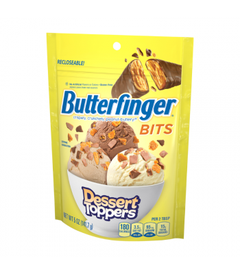 Clearance Special - Butterfinger Bits Dessert Toppers 5oz (141.7g) *Best Before: July 21** Clearance Zone