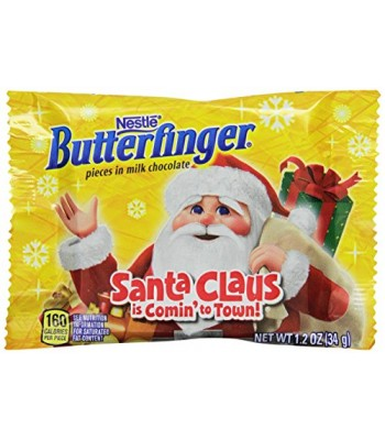 Clearance Special - Butterfinger Christmas Medallion - (Best Before: 21st January 2017) Clearance Zone