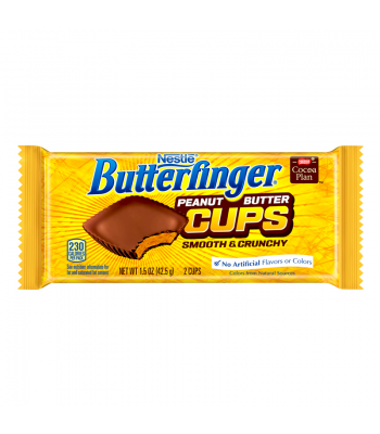 Clearance Special - Butterfinger Cups 1.5oz ** Best Before February 2017 ** Clearance Zone
