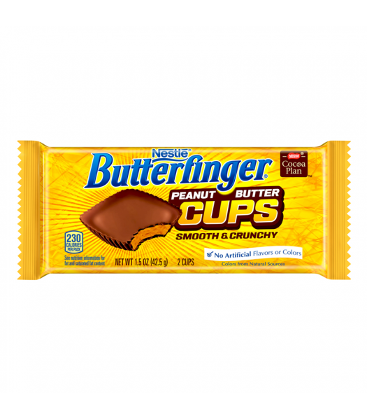 Clearance Special - Butterfinger Peanut Butter Cups 1.5oz (43g) **Best Before: End of January 2019** Clearance Zone