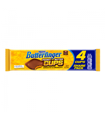Clearance Special - Butterfinger Peanut Butter Cups King Size 3oz (85g) (Best Before: August/September 2016) Clearance Zone
