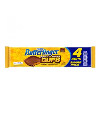 Butterfinger Peanut Butter Cups King Size 3oz (85g) Chocolate, Bars & Treats Butterfinger