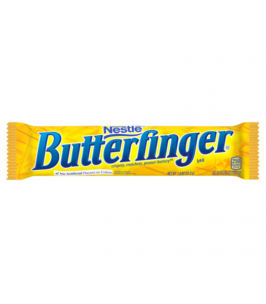 Butterfinger Bar 1.9oz (53.8g) Sweets and Candy Butterfinger