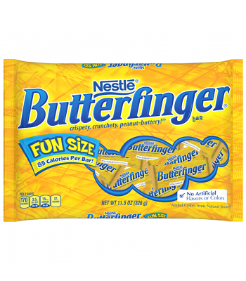 Butterfinger Fun Size 11.5oz (326g) Bag Sweets and Candy Butterfinger