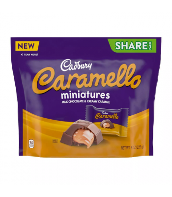 Cadbury Caramello Mini's Share Pack - 8oz (226g) Sweets and Candy Cadbury