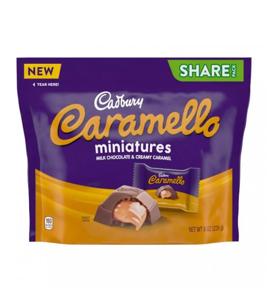 Cadbury Caramello Mini's Share Pack - 8oz (226g) Sweets and Candy Cadbury
