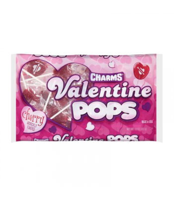 Charms Valentine Pops Bag - 11.5oz (326g) Sweets and Candy Charms