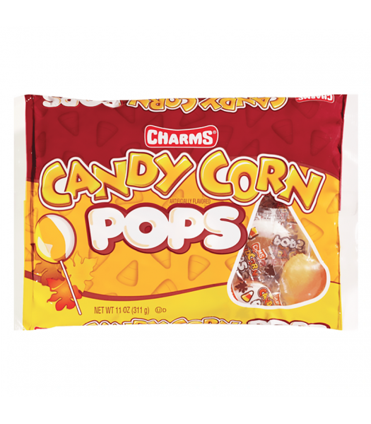 Charms Candy Corn Pops - 11oz (311g) Sweets and Candy Charms