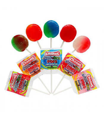 Charms Sweet 'N Sour Pop - 0.625oz (18g)