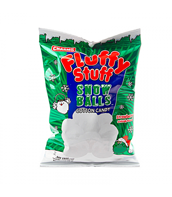 Charms Fluffy Stuff Snow Balls - 2.1oz (59g) [Christmas] Sweets and Candy Charms