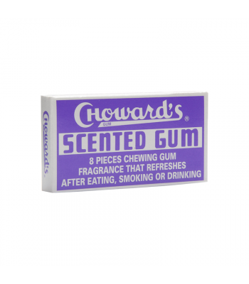 Choward's Scented Gum - 8-Piece Sweets and Candy