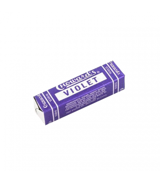 Choward's Violet Mints - 15-Piece Sweets and Candy