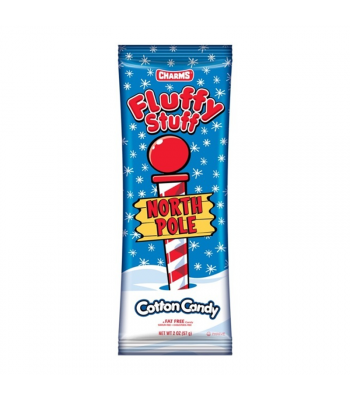 Charms Fluffy Stuff North Pole - 2oz (57g) [Christmas] Sweets and Candy Charms