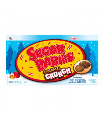 Charms - Sugar Babies Caramel Crunch - 4oz (113g) [Christmas] Sweets and Candy