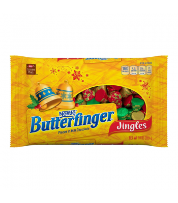 Butterfinger - Holiday Jingles - 10oz (283g) [Christmas] Sweets and Candy Butterfinger
