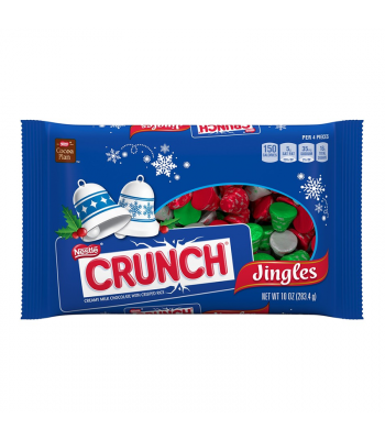 Clearance Special - Nestle Crunch Holiday Jingles - 10oz (284g) [Christmas] **Best Before: May 19** Clearance Zone