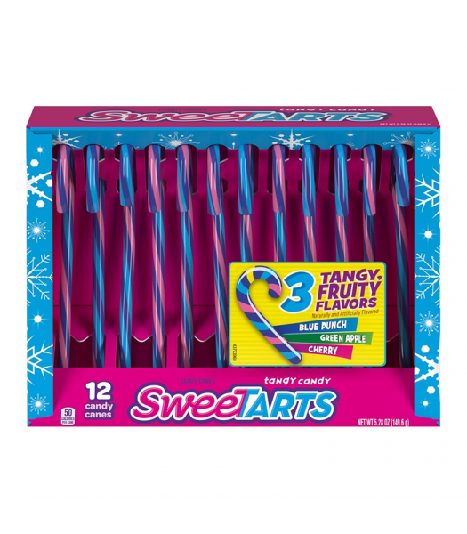 Nestle SweeTarts Candy Canes - 5.28oz (150g) [Christmas] Sweets and Candy Nestle
