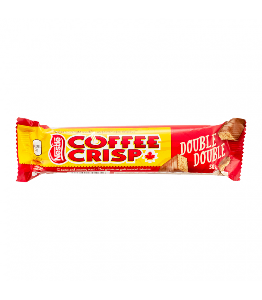 Coffee Crisp Double Double Wafer Bar - 50g Sweets and Candy