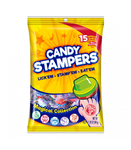 Concord Candy Stampers Peg Bag 2.28oz (64g) Sweets and Candy