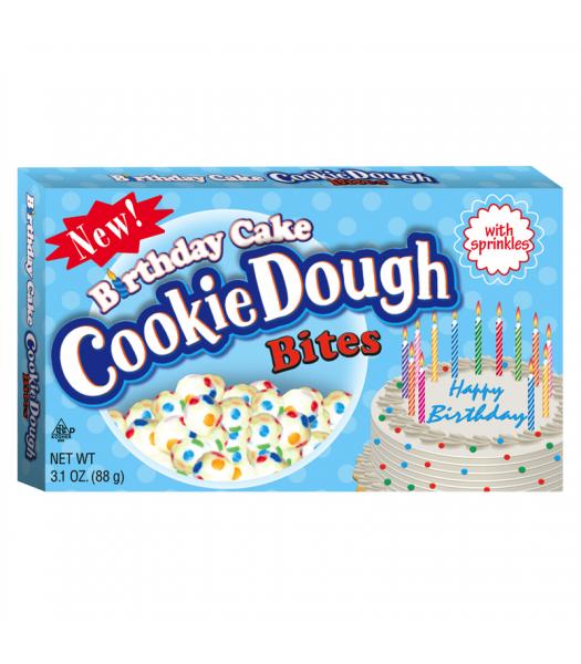 Birthday Cake Cookie Dough Bites 3.1oz (88g)  Chocolate, Bars & Treats Cookie Dough Bites