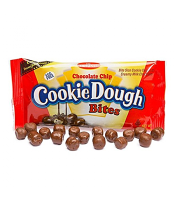 Cookie Dough Bites Chocolate Chip 1.75oz (49g) Chocolate, Bars & Treats Cookie Dough Bites