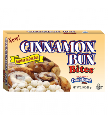 Cinnamon Bun Bites 3.1oz (88g) Chocolate, Bars & Treats Cookie Dough Bites