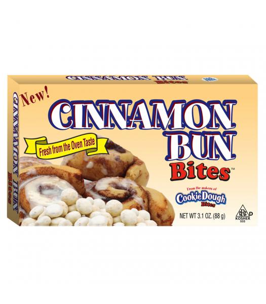 Cinnamon Bun Bites 3.1oz (88g) Chocolate, Bars & Treats Cookie Dough Bites