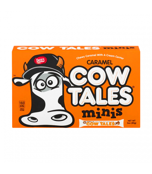 Goetze's Caramel Cow Tales Minis Theatre Box - 3oz (85g) Sweets and Candy Goetze's
