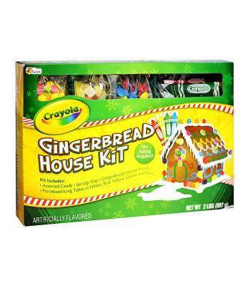 Crayola Gingerbread House Kit 2lbs (907g) Christmas Candy