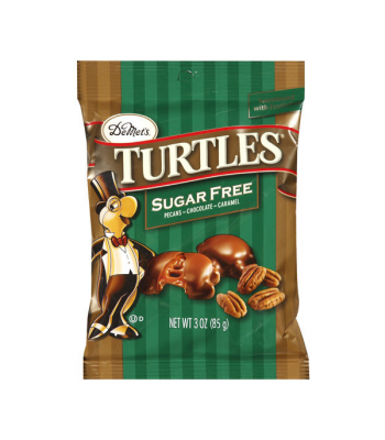 Demets Turtles - Sugar Free - 3oz (85g) Chocolate, Bars & Treats