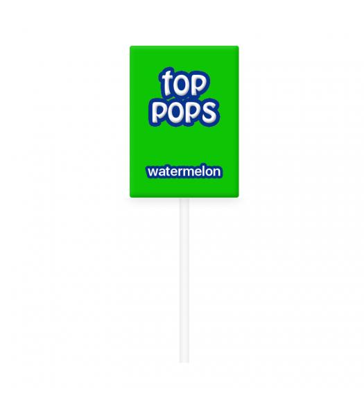 Dorval Top Pops Chewy Candy Lollipop - Watermelon Lollipops