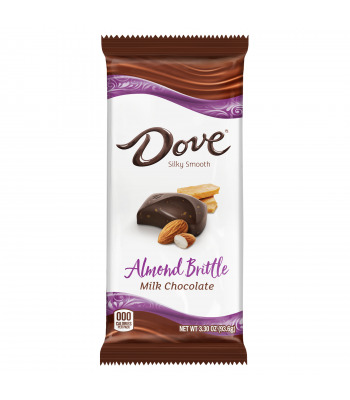 Dove Milk Chocolate Almond Brittle - 3.3oz (93.6g) Sweets and Candy Dove