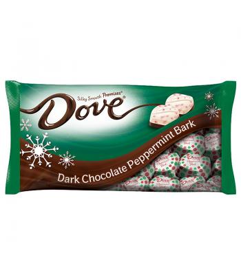 Dove Promises - Dark Chocolate Peppermint Bark - 7.94oz (225g) Christmas Candy Dove