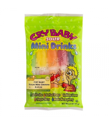 Cry Baby Sour Mini Drinks - 3.4oz (99g) Sweets and Candy