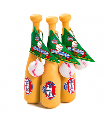 Dubble Bubble Big Slugger Gum Filled Baseball Bat - 0.42oz (12g) Sweets and Candy Dubble Bubble