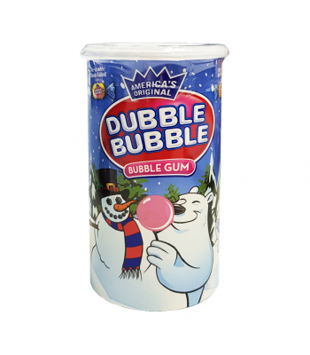 Dubble Bubble Bubble Gum Bank - 3.5oz (99g) [Christmas] Sweets and Candy