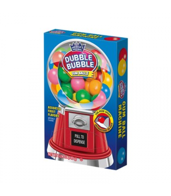 Dubble Bubble Gumball Machine Box 5.24oz (149g) Sweets and Candy Dubble Bubble