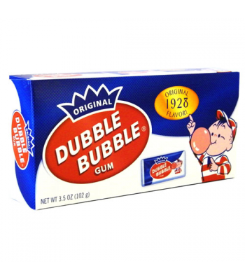 Dubble Bubble - Nostalgic Theatre Box - 3.5oz (99g) Bubble Gum Dubble Bubble