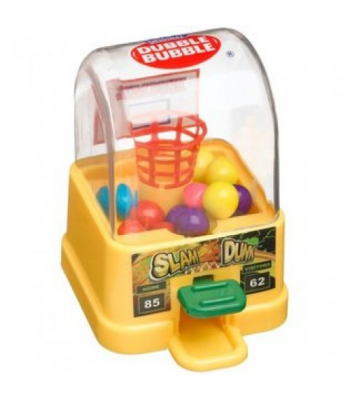 Kidsmania Slam Dunk Dubble Bubble Gum Ball Dispenser - 0.42oz (12g) Sweets and Candy Kidsmania