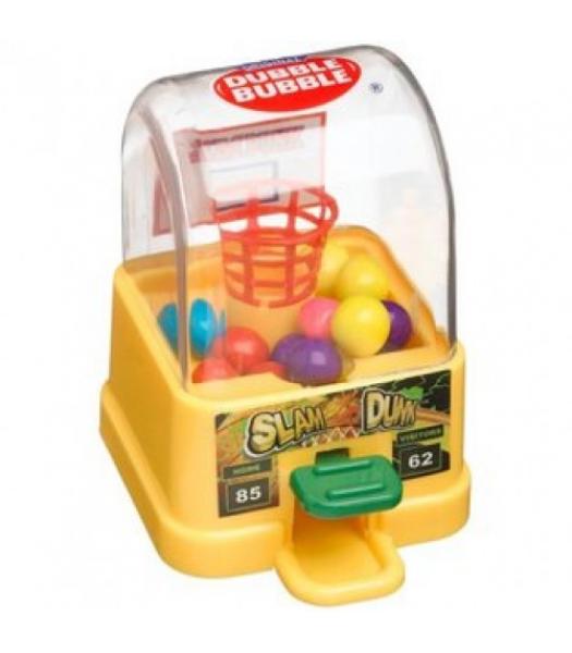 Kidsmania Slam Dunk Dubble Bubble Gum Ball Dispenser - 0.42oz (12g) Sweets and Candy Kidsmania