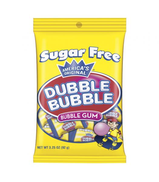 Dubble Bubble Sugar Free Bubble Gum 3.25oz (92g) Bubble Gum Dubble Bubble