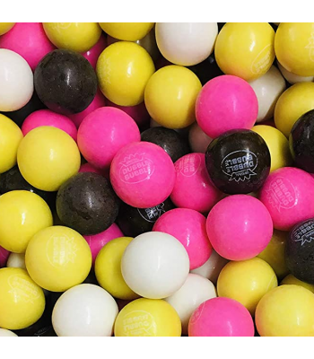 Dubble Bubble Gum Balls Pouch - Banana Split - 200g Sweets and Candy Dubble Bubble