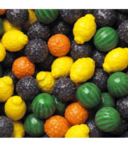 Dubble Bubble Gum Balls Pouch - Fancy Fruit - 200g Sweets and Candy Dubble Bubble
