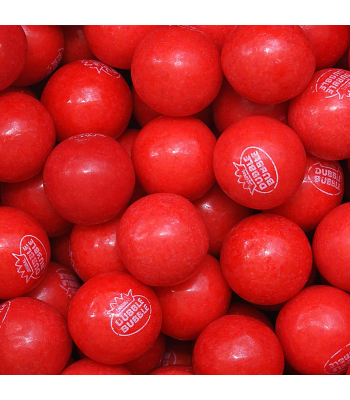 Dubble Bubble Gum Balls Pouch - Very Cherry - 200g Sweets and Candy Dubble Bubble