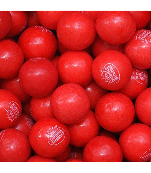 Dubble Bubble Gum Balls Pouch - Very Cherry - 200g Sweets and Candy Dubble Bubble