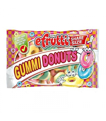 eFrutti Gummi Donuts Share Size - 1.4oz (40g) Sweets and Candy