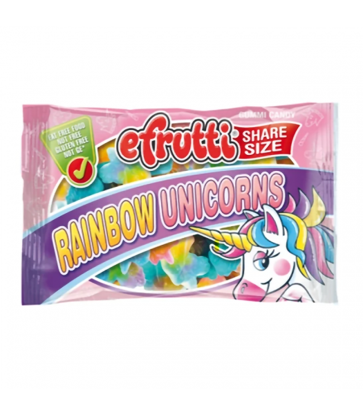 eFrutti Gummi Unicorns Share Size - 1.4oz (40g) Sweets and Candy