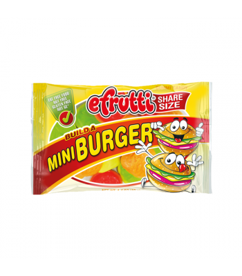 E.Frutti Build A Mini Burger Gummies Share Size - 1.4oz (40g) Sweets and Candy E.Frutti