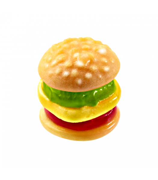 E.frutti Gummi Candy Mini Burger 0.32oz (9g) Sweets and Candy
